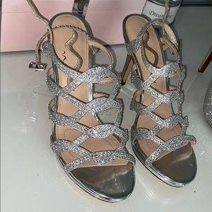 💍Nina Sparkly Strappy Heels
